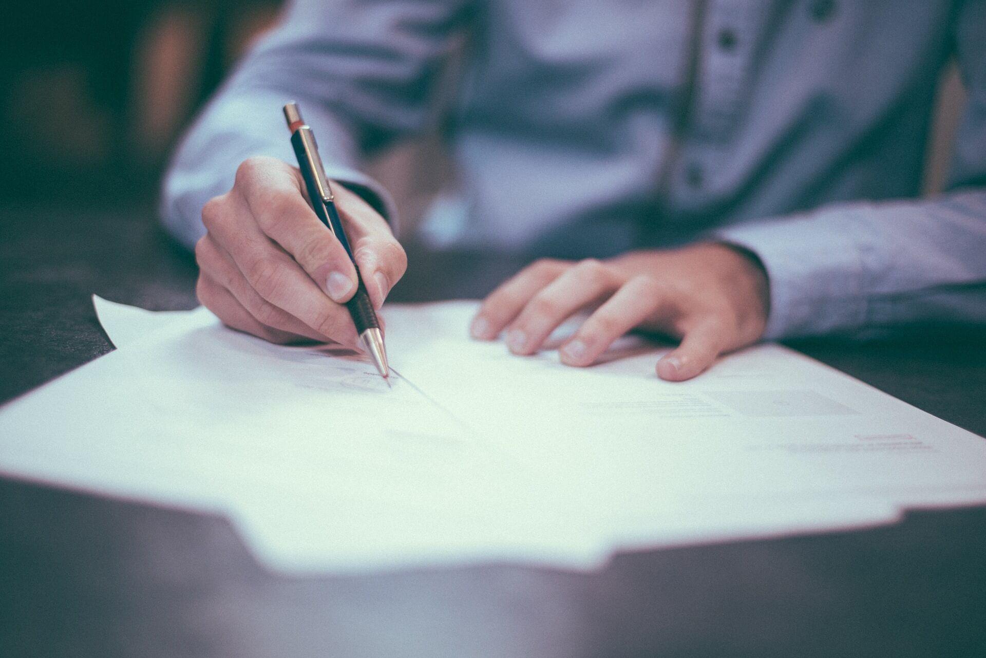 Contrato post alquiler de mudanzas